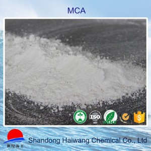Haiwang molecular composite modified mca melamine cyanurate cas 37640-57-6