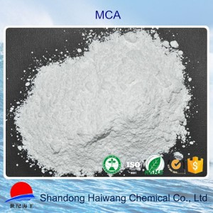 Haiwang environmental melamine cyanurate cas 37640-57-6 manufacturer